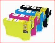 Any 12 x T138 Epson Compatible HC Inkjet Cartridges for Epson Inkjet Printers (NX420, TX420W, WorkForce 625/630/633/840)