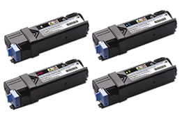 (Free Delivery) Any 5x Dell 2150 (2/1/1/1=5 ) HY (3K Each) Compatible toner cartridges for Dell 2150cdn / 2150cn / 2155cdn / 2155cn