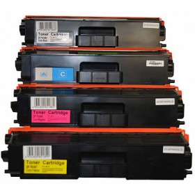 (Free Delivery) Any 5 x Brother TN-346  (HY-4k/3.5k) (2/1/1/1=5) Brand New Compatible Toner Cartridges for Brother Colour Laser :  HL-L8250CDN, HL-L8350CDW, HL-L9200CDW, MFC-L8600CDW, MFC-L8850CDW, MFC-L9550CDW