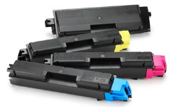 (Free Delivery) Any 5x TK-584 Kyocera (2xBk+C+M+Y=5)- Brand New Compatible toner cartridges for Kyocera Laser Printers