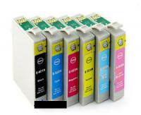 Epson T0812 (81N) (V.6) (1x Cyan) 16ml HC compatible inkjet cartridge for TX series printers