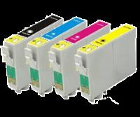 Epson Any 8 x T0731-T0734 (73N/103) V6. (TX110/TX210/TX410/TX510/TX550W/TX600/TX610) Compatible Inkjet Cartridges for Epson Inkjet Printers