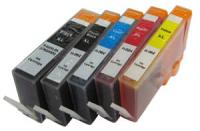 Any 5 x HP 564 XL Extra Capacity (5 Colour) (With Chip) Compatible inkjet cartridges for HP PhotoSmart