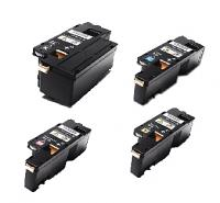 (Free Delivery) Any 4 x Fuji Xerox CP105B/CP205 (4 x colour toner cartridges) (HY-2K/1.4K) Compatible Toner Cartridges for Fuji Xerox DocuPrint CM215, CM215b CM215FW, CP215W CP105b, CP205, CP205w, CM205b CM205F CM205FW (CT201591/CT201592/CT201593/CT201594