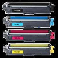 (Free Delivery) Any 5 x Brother TN-240  (2/1/1/1=5) (CMYK) Brand New Compatible Toner Cartridges