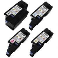 (Free Delivery) Any 5 x Dell 1250 (2/1/1/1=5) HY (2K/1.4K) Compatible toner cartridges for Dell 1250C / Dell 1350CNW / Dell 1355CN / Dell C1765NFW