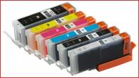 (Free Delivery) Any 12 x Canon PGI-650 XLBk/CLI-651 XL + (CLI-651GY) Compatible inkjet cartridges (With Chips) for Canon Printers