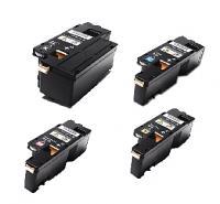 (Free Delivery) Any 5 x Fuji Xerox CP115W/CP115/CM115W (2/1/1/1=5) (HY-2K/1.4K) Compatible Toner Cartridges for Fuji Xerox DocuPrint CM115W, CP115W, CP116W, CM225FW, CP225W