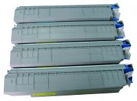 (Free Delivery) Any 4 x Oki C860 (4 Colour)- Brand New Compatible toner cartridges for OKI MC860