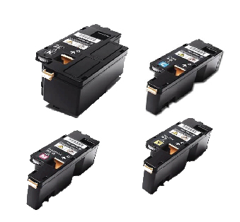 (Free Delivery) Any 4 x Fuji Xerox CP105B/CP205 (4 x colour toner cartridges) (HY-2K/1.4K) Compatible Toner Cartridges for Fuji Xerox DocuPrint CM215, CM215b CM215FW, CP215W CP105b, CP205, CP205w, CM205b CM205F CM205FW (CT201591/CT201592/CT201593/CT201594