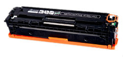 1 x CB540A (Black) (2.2K Pages) Compatible HP laser toner cartridge  for HP Colour Laser Printers