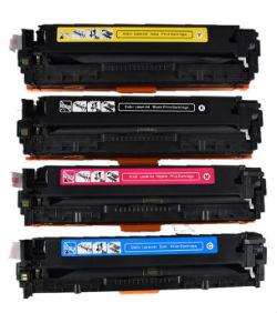 (Free Delivery) Any 4 x CE320A - CE323A (4 Colour)- 128A Brand New Compatible toner cartridges for HP Laserjet CM1415fn/CM1415FNW/CP1525N/CP1525NW