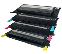 (Free Delivery) Any 4 x Samsung CLT-K407S - CLT-Y407S series (4 x colour ) Brand New Compatible Toner Cartridge for Samsung CLP-320 / CLP-320N / CLP-325N / CLX-3180 / CLX-3185FN /CLX-3185FW