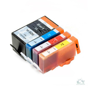 Any 4 x HP 920 XL Extra Capacity (4 Colour) (With Chip) Compatible inkjet cartridges for HP Officejet 6000/6500/7000/7500A