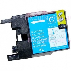 (Extra Capacity) 1 x Brother LC-73 XL/LC-77 XL/LC-40 (Cyan) compatible Inkjet printer cartridge for Brother
