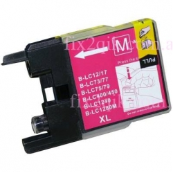 (Extra Capacity) 1 x Brother LC-73 XL/LC-77 XL /LC-40 (Magenta) compatible Inkjet printer cartridge for Brother