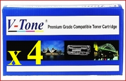 Any 4 x Cart-329 / CE310A-CE313A (4 Colour)- Brand New Compatible toner cartridges for Canon LaserShot LBP-7018C