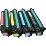(Free Delivery) Any 4 x Cart-323/(CE250X-CE253A (set of 4) Compatible laser toner cartridges for Canon Canon LaserShot LBP-7750Cdn
