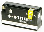 1 x HP 711 (Black) CZ133A HY (80ml) Compatible inkjet cartridge for HP Designjet T120 T520