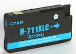 1 x HP 711 (Cyan) CZ130A HY (30ml) Compatible inkjet cartridge for HP Designjet T120 T520