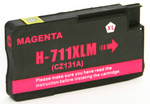 1 x HP 711 (Magenta) CZ131A HY (30ml) Compatible inkjet cartridge for HP Designjet T120 T520