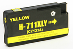 1 x HP 711 (Yellow) CZ132A HY (30ml) Compatible inkjet cartridge for HP Designjet T120 T520