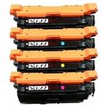 (Free Delivery) Any 4 x CF330X-CF333A (HP 654X/654A) (4 Colour)- High Capacity Compatible toner cartridges for HP Colour Laserjet Enterprise M651, M651DN, M651N, M651XH
