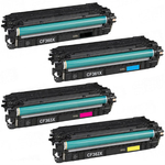 (Free Delivery) Any 4 x CF360X-CF363X (HP 508X) (4 Colour)- High Capacity Compatible toner cartridges for HP Colour Laserjet Enterprise M552, M552DN, M553, M553DN, M553N, M553X, M577, M577DN, M577F, M577Z