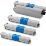 (Free Delivery) 4 x C532 (4 Colour)- Brand New Compatible toner cartridges for Oki C532 / C532DN / MC563 / MC563DN / MC573 / MC573DN