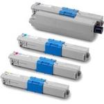 (Free Delivery) 4 x C532 (4 Colour)- Brand New Compatible toner cartridges for Oki C532 / C532DN / MC563 / MC563DN / MC573 / MC573DN