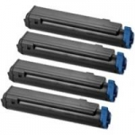 (Free Delivery) 4 x C712 (4 Colour)- Brand New Compatible toner cartridges for Oki C712 / C712N